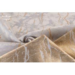 TKANINA Ombra - marmurkowy złoty wzór 2A/A863