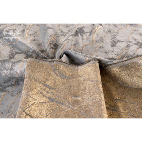 TKANINA Ombra - marmurkowy złoty wzór 2A/A862