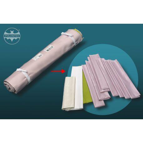 Wyprzedażowa paczka tkanin, resztki - 5 kg
