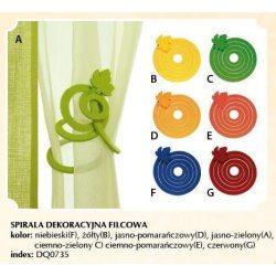 Spirala Dekoracyjna Filcowa