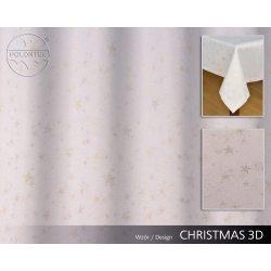 TKANINA ŚWIĄTECZNA CHRISTMAS wzór 3D
