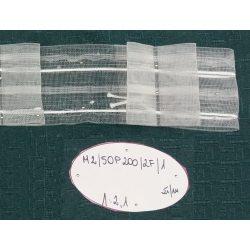 TAŚMA MARSZCZĄCA M2/50P200/2F/1 - Przezroczysta