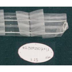 TAŚMA MARSZCZĄCA M2/50P250/2F/1 - Przezroczysta