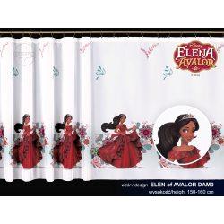 Firana dla dzieci Disney ELENA z AVALORU wzór DAM0