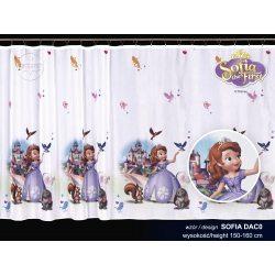Firana dla dzieci Disney SOFIA wzór DAC0