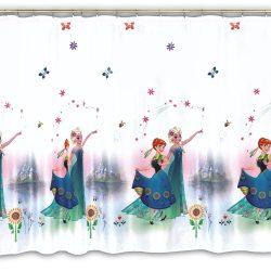 Firana dla dzieci Disney KRAINA LODU wzór DAG0