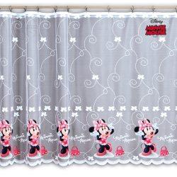 Firana żakardowa dla dzieci Disney 4290 MYSZKA MINNIE druk nr DA74