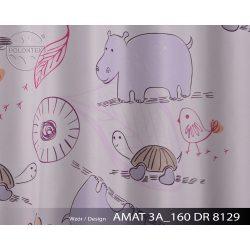 TKANINA TAMA DRUK NR 8129 - Zwierzątka z Afryki