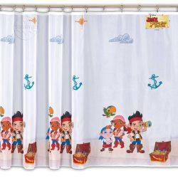 Firana dla dzieci Disney JAKE I PIRACI Z NIBYLANDII wzór DA80