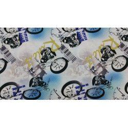 PIĘKNE MATOWE ZASŁONY DRUK NR 1620 - Motocykle
