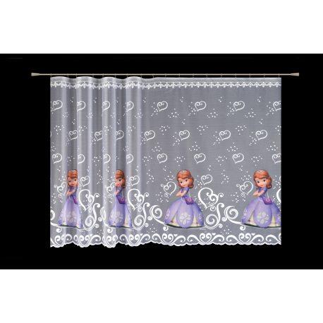 Firana żakardowa dla dzieci Disney 4410 SOFIA druk nr DAC7