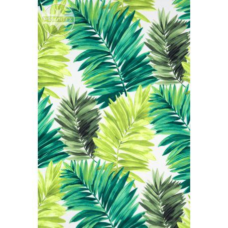 TKANINA Palmy zielone (Druk L 2117)