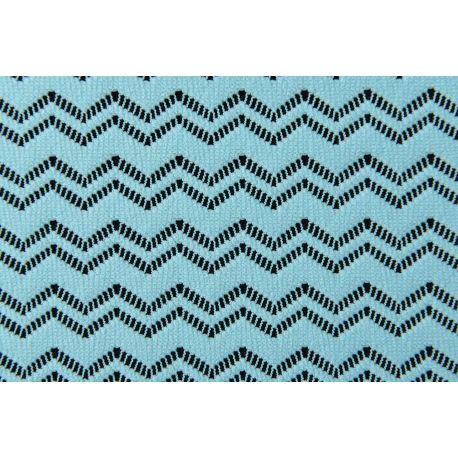 Tkanina koronkowa wzór 4218, kolor turkusowy