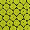 Tkanina koronkowa wzór 4222, kolor limonka