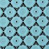 Tkanina koronkowa wzór 4222, kolor turkusowy