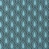 Tkanina koronkowa wzór 4224, kolor turkusowy