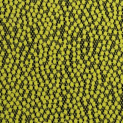 Tkanina koronkowa wzór 4227, kolor limonka