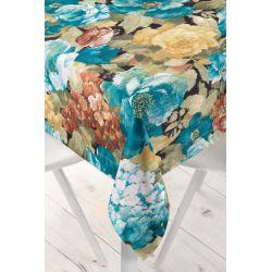 Obrus drukowany kwiaty Cezanne wzór 2112