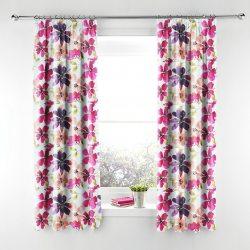 Zasłony w kwiaty - akwarele 0542