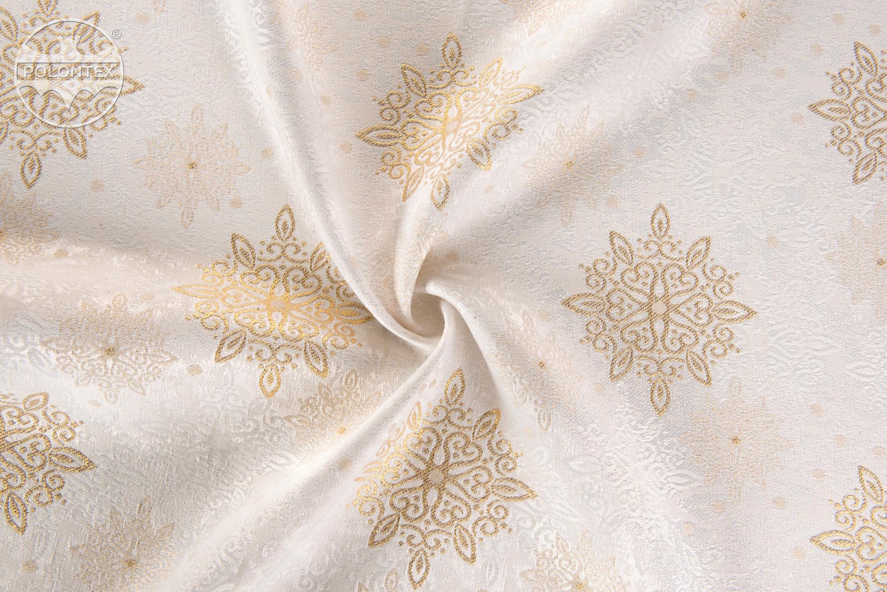 Tkaniny żakardowe z dodatkiem przędz lamateksowych