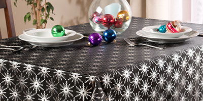 Idan, tkanina na obrus świąteczny