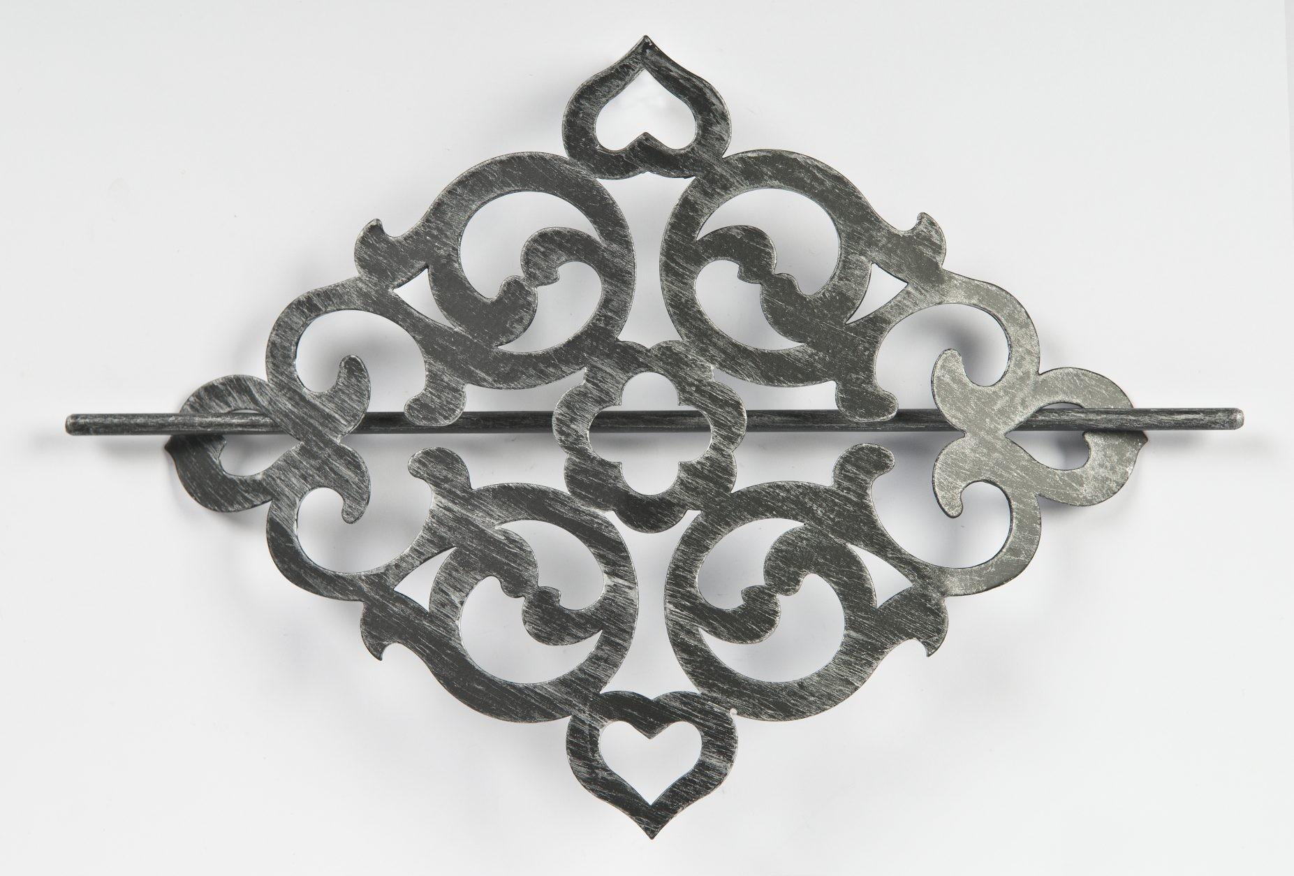Karo Metal 46917 czarno srebrny